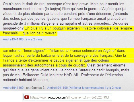"""Livre :  """" Bilan de la France coloniale en Algérie """" Crucifix-3a2249f"""